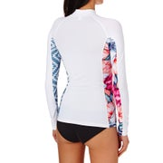 Rip Curl All Over Long Sleeve Ladies Rash Vest