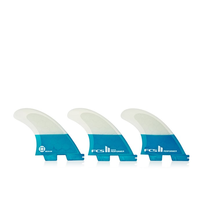 FCS II Performer Pc Teal Thruster Fin