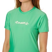 O Neill Basic Skins Short Sleeve Ladies Surf T-Shirt