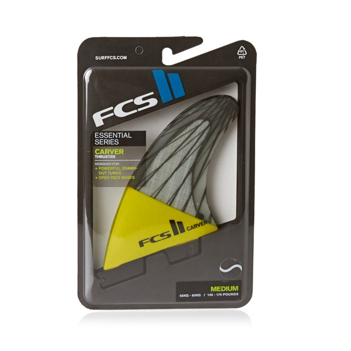FCS II Carver PC Carbon Thruster Fin