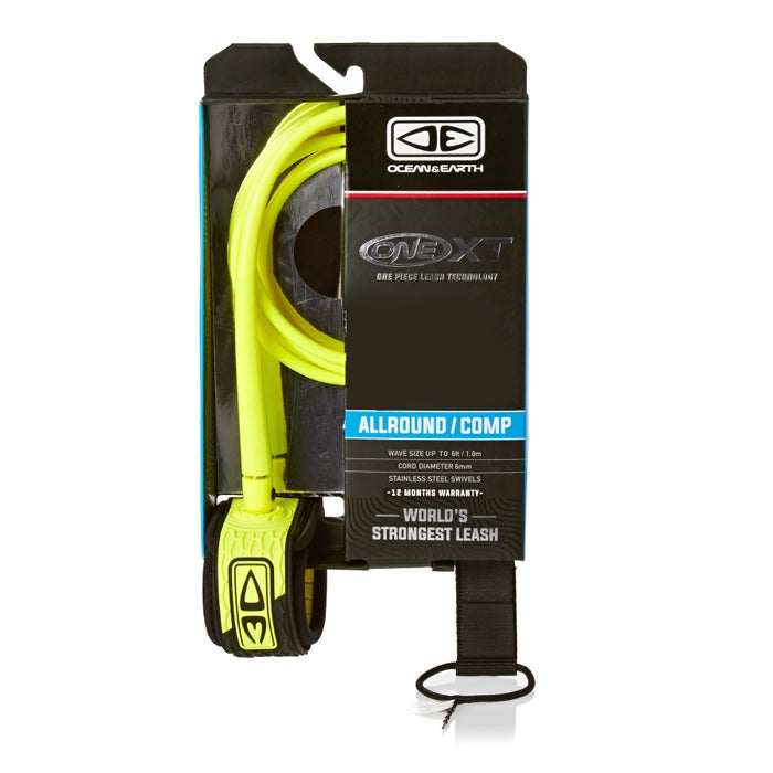 Ocean and Earth All Round Comp Surf Leash