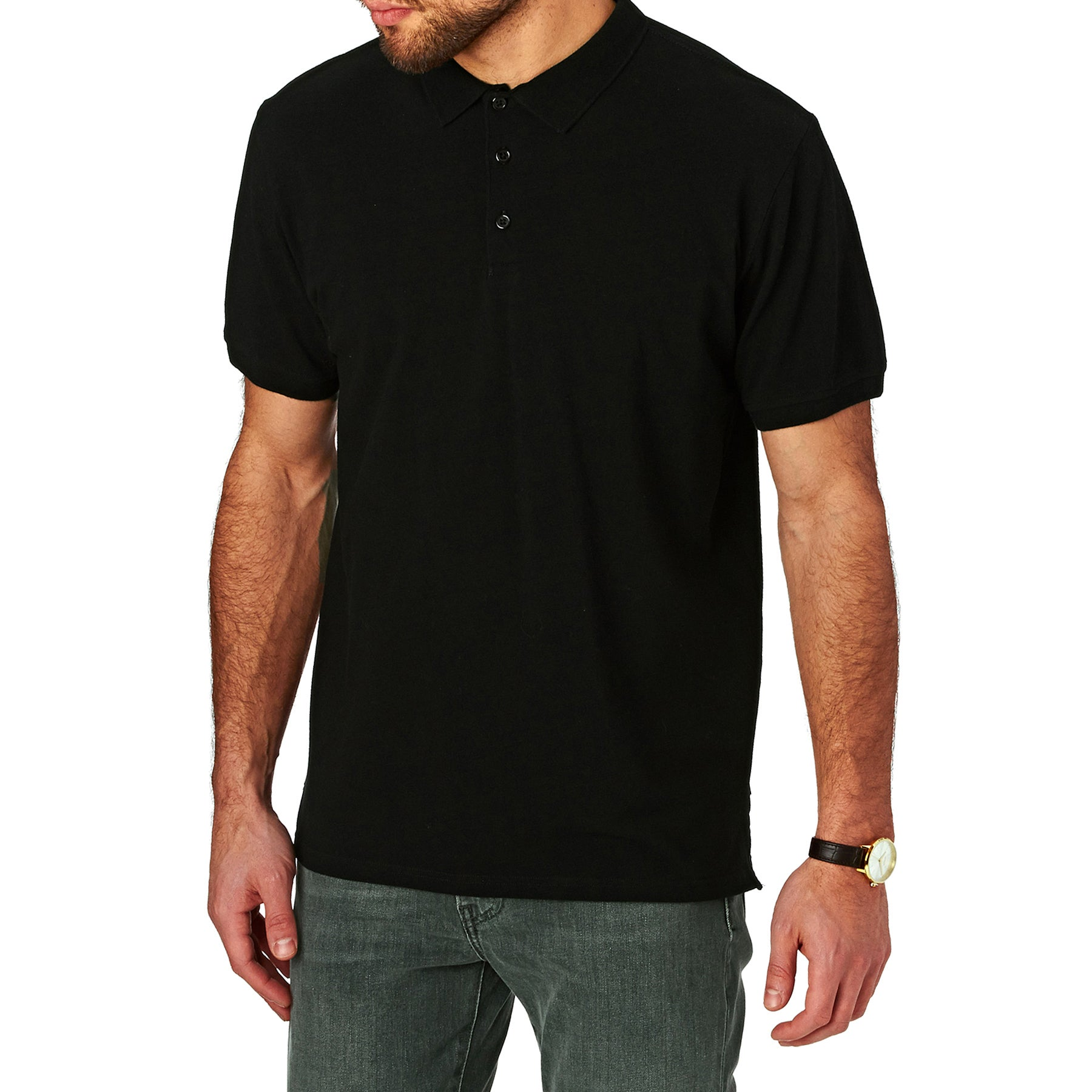 SWELL Basic Pique Polo Shirt