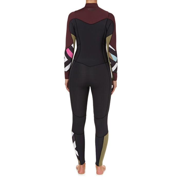 Billabong Salty Dayz 5/4mm 2018 Chest Zip Ladies Wetsuit