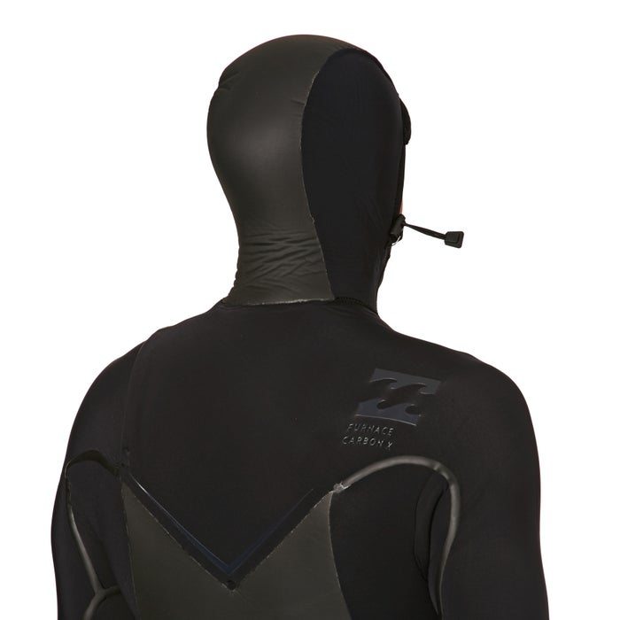 Billabong 7/6mm 2018 Furnace Carbon X Hooded Chest Zip Wetsuit