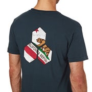 Channel Islands Cali Distressed Hex Short Sleeve T-Shirt
