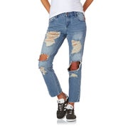 Volcom Straight Destroy Ladies Jeans