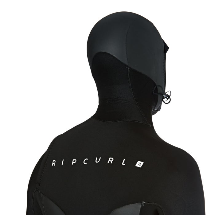 Rip Curl Flashbomb 5/4mm 2018 Chest Zip Hooded Wetsuit