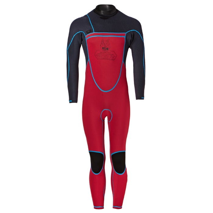 O Neill 4-3mm 2018 Psycho Freak Chest Zip Wetsuit