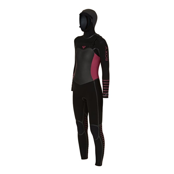 Roxy 5/4/3mm 2018 Syncro Plus Hooded Chest Zip Ladies Wetsuit