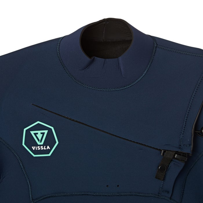 Vissla 5-4mm 2018 Seven Seas Chest Zip Wetsuit