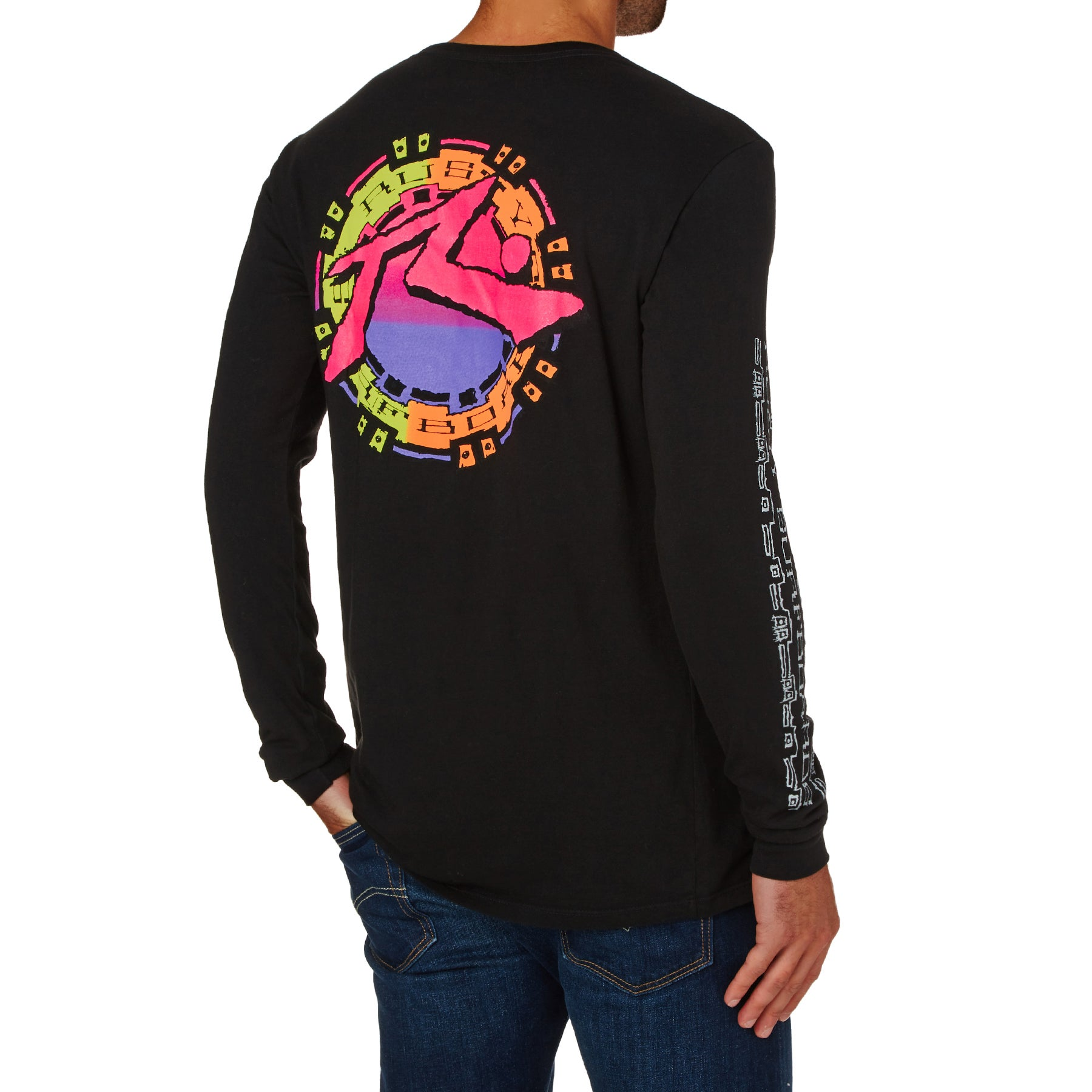 Rusty Mayan 3 Long Sleeve T-Shirt