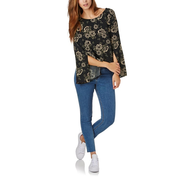 The Hidden Way Louisa Split Sleeve Blouse Ladies Top