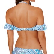 Seafolly Bazaar Cold Shoulder Bandeau Ladies Bikini Top