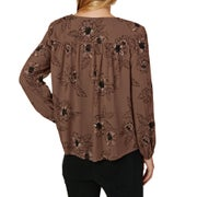 Amuse Society Bleeker Woven Ladies Top