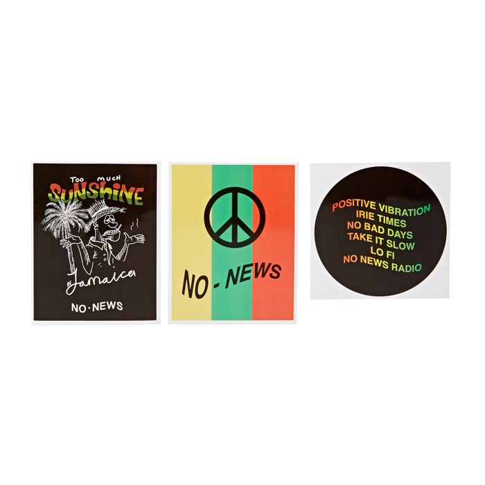 No News Pack Of Sticker