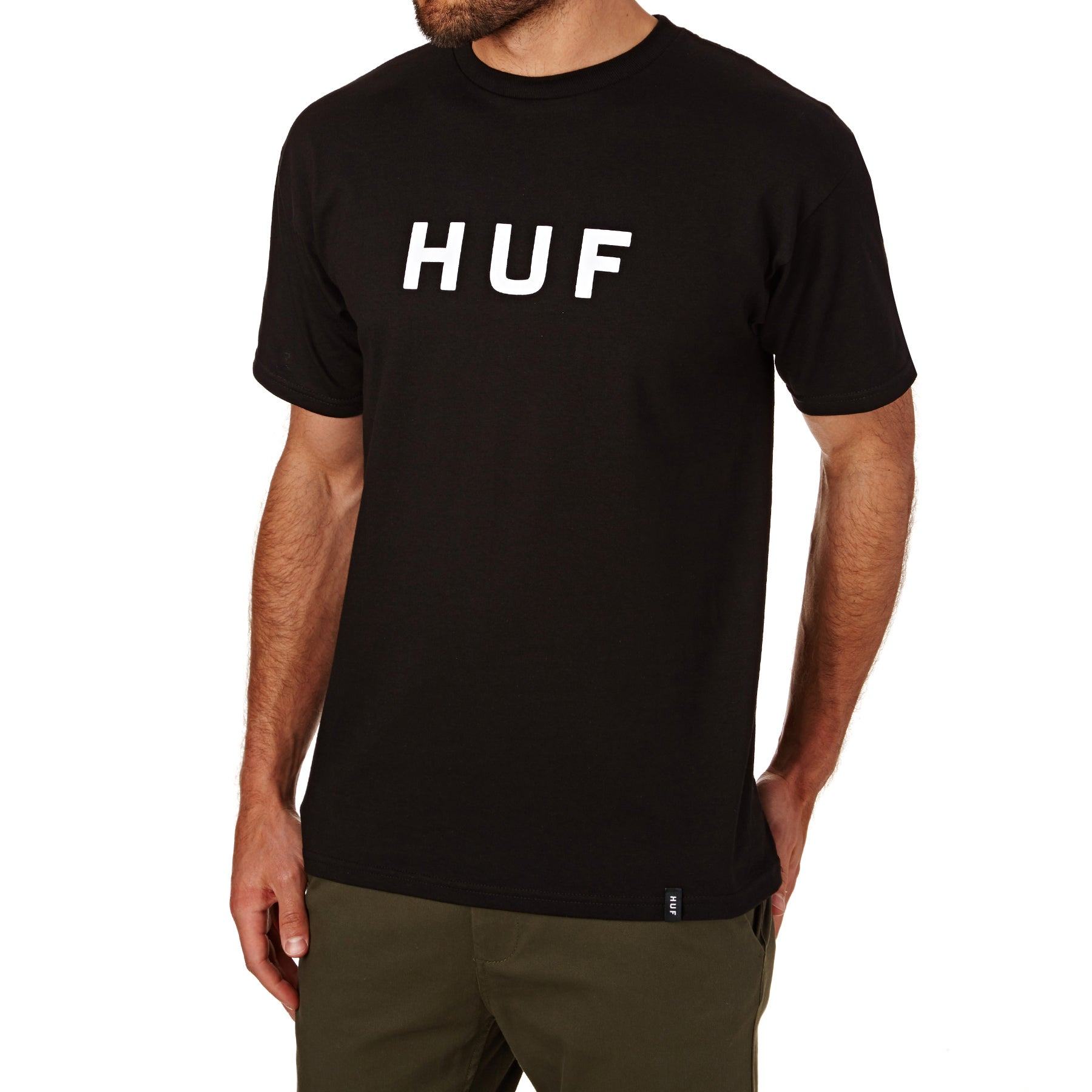 Huf Original Logo Short Sleeve T-Shirt