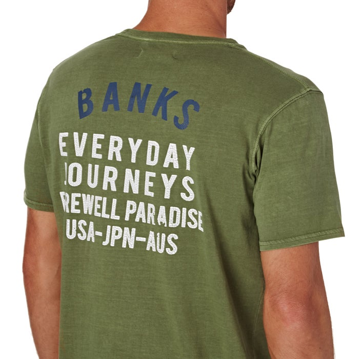 Banks Tour Short Sleeve T-Shirt