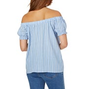 The Hidden Way Esme Shirred Ladies Top