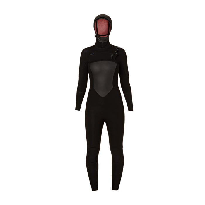Xcel 5-4mm 2018 Infiniti Hooded X2 Chest Zip Ladies Wetsuit