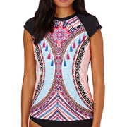 Seafolly Nights Cap Sleeve Ladies Rash Vest