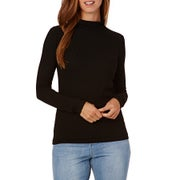 SWELL Bissen Roll Neck Ladies Long Sleeve T-Shirt