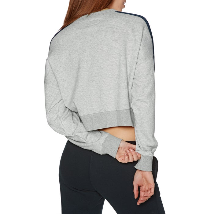 Converse Star Chervon Track Cropped Crew Ladies Sweater
