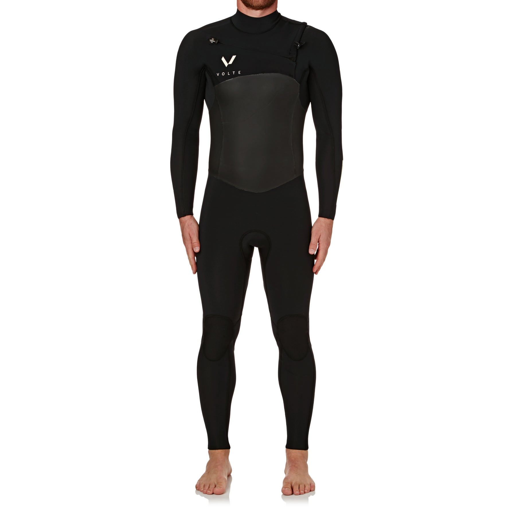 Volte 4-3mm 2018 Supreme Chest Zip Wetsuit