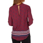 The Hidden Way Amuse High Neck Ladies Top