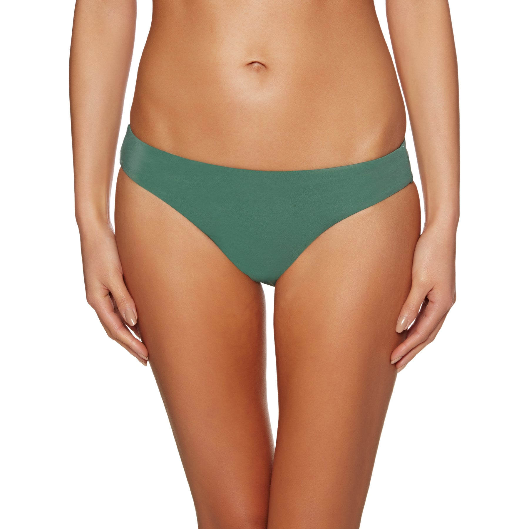 RVCA Solid Full Ladies Bikini Top