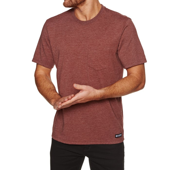 Element Basic Pocket Mens Short Sleeve T-Shirt