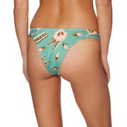 RVCA South Swell High Cu Ladies Bikini Bottoms
