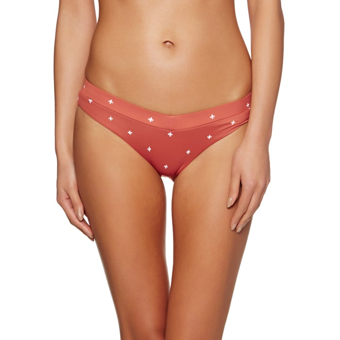 RVCA Crossed Medium Ladies Bikini Bottoms