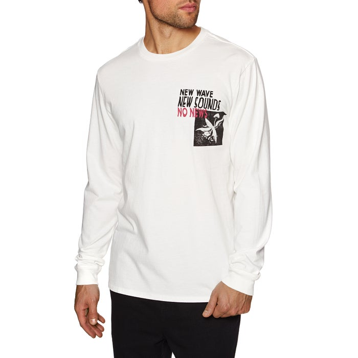 No News Xeroxed Long Sleeve T-Shirt