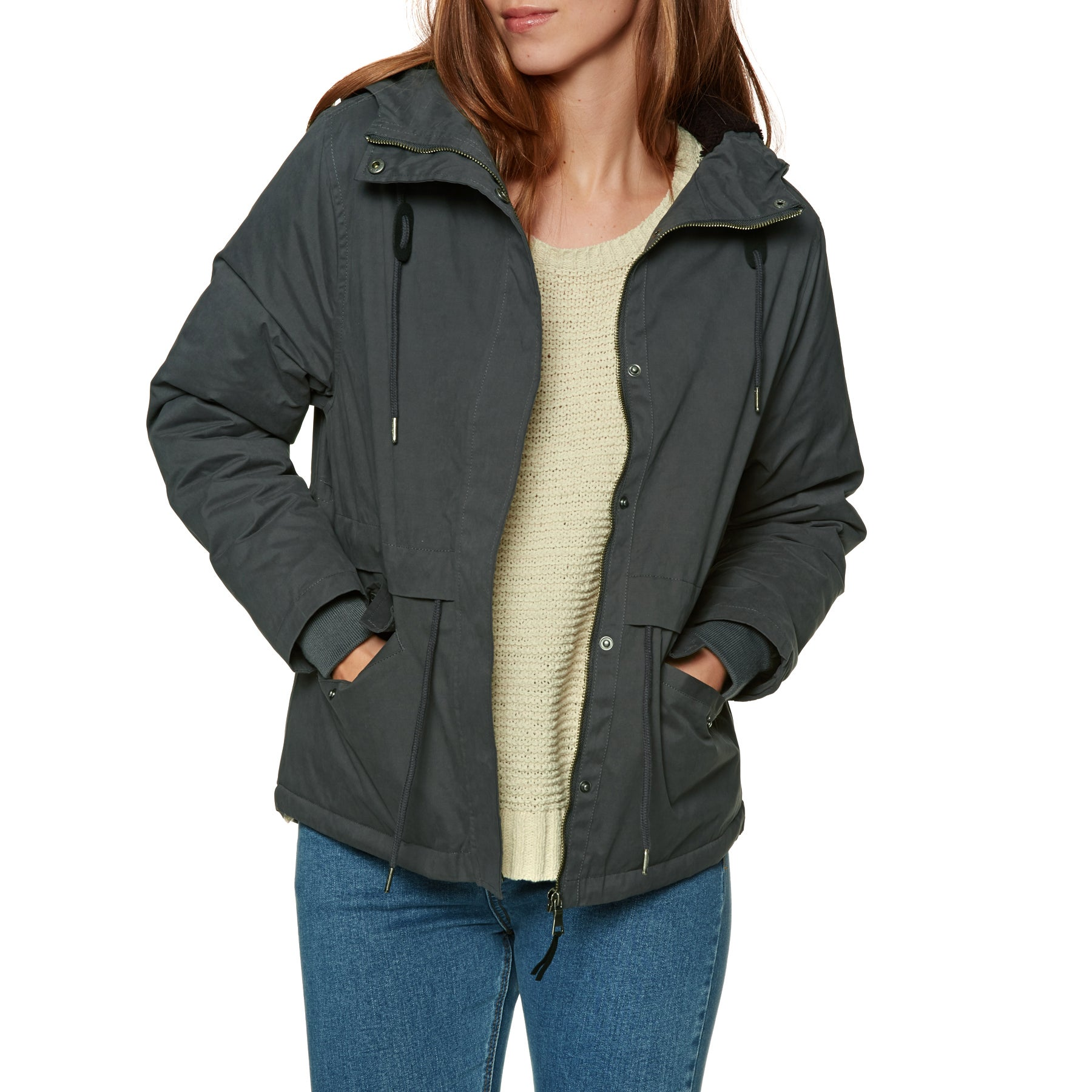 SWELL Kelby Sherpa Parka Ladies Jacket