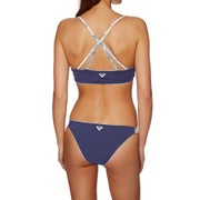 Roxy Softly Love Reversible Athletic Tri Ladies Bikini Top