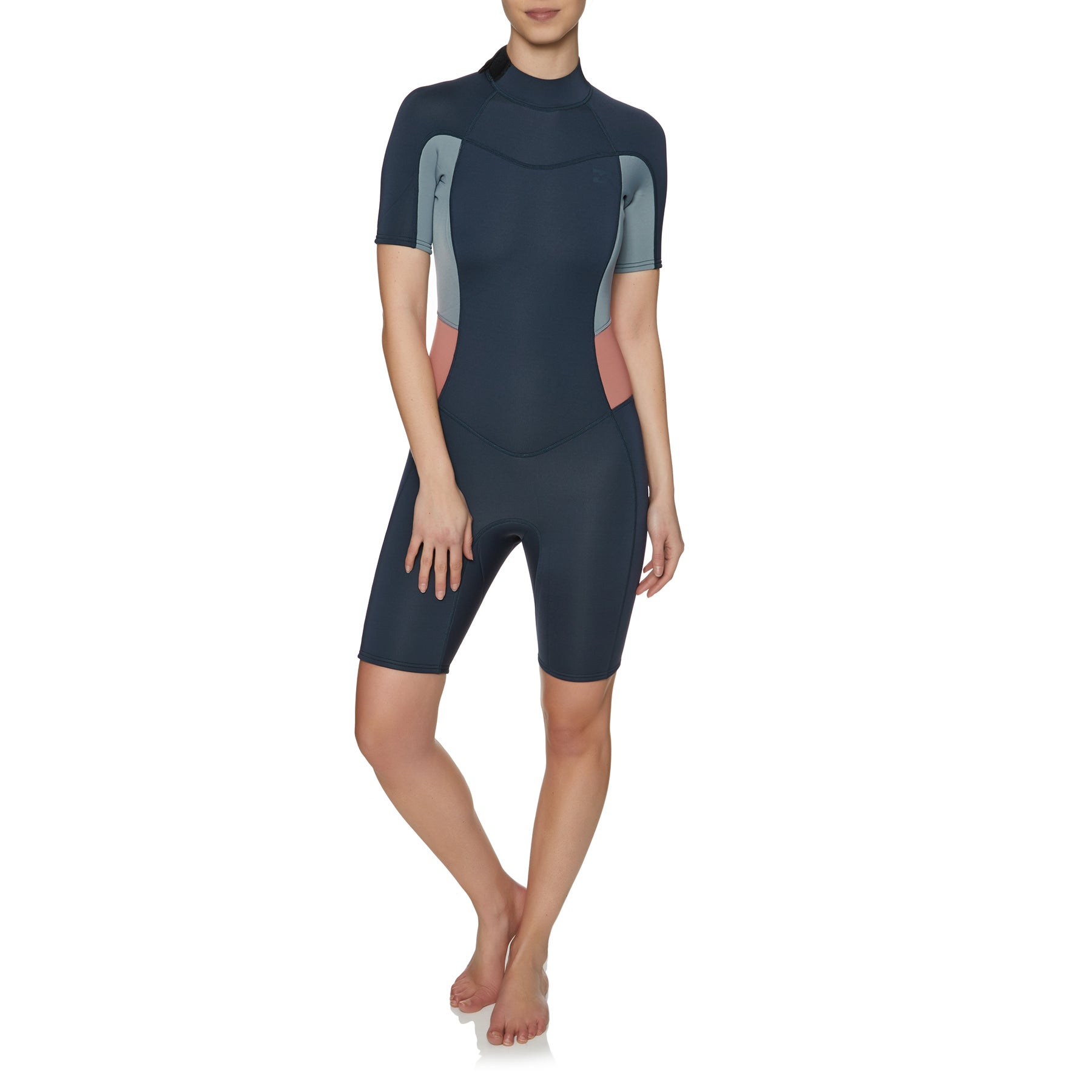 Billabong Synergy 2mm Back Zip Shorty Ladies Wetsuit