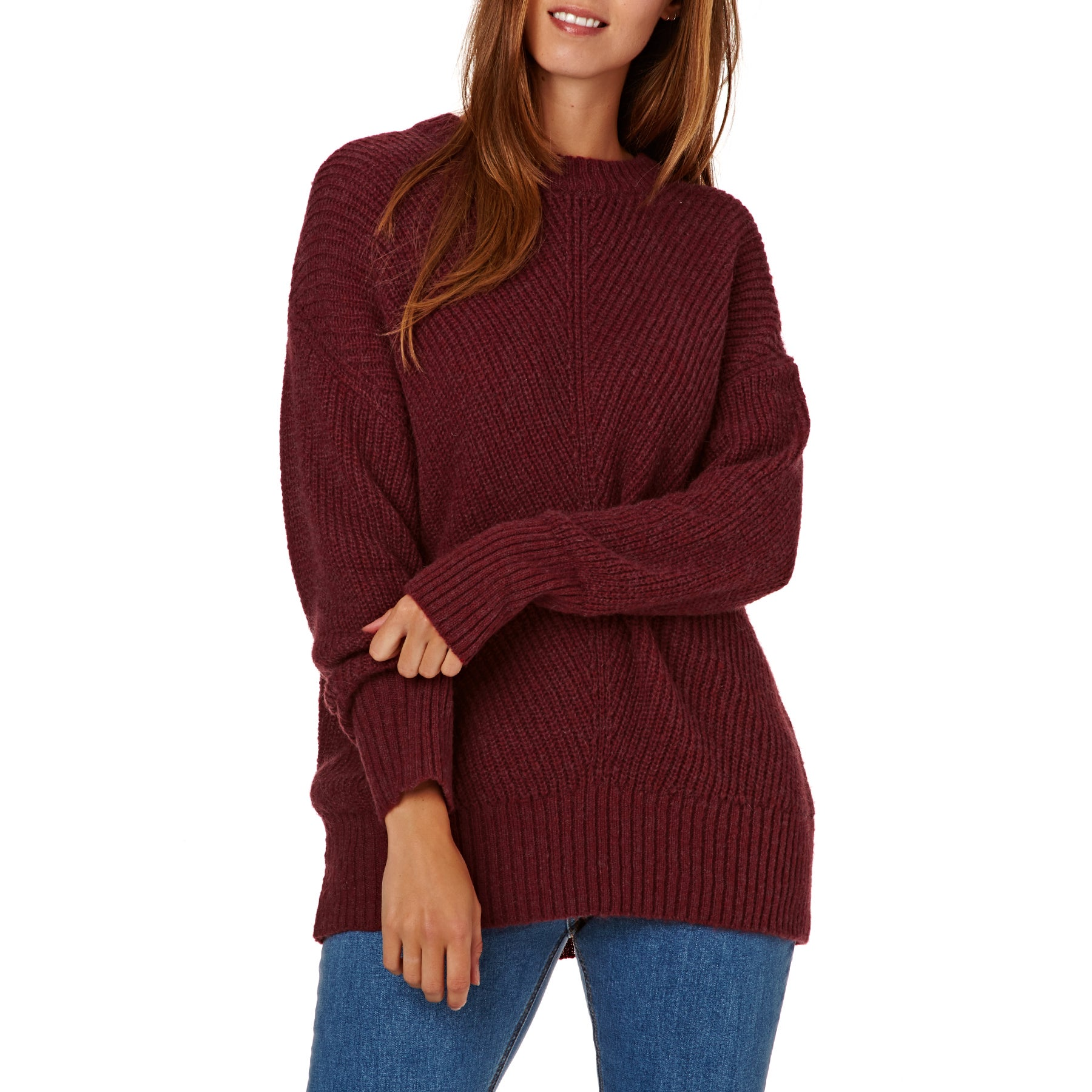 SWELL Hayden Fisherman Rib Ladies Sweater