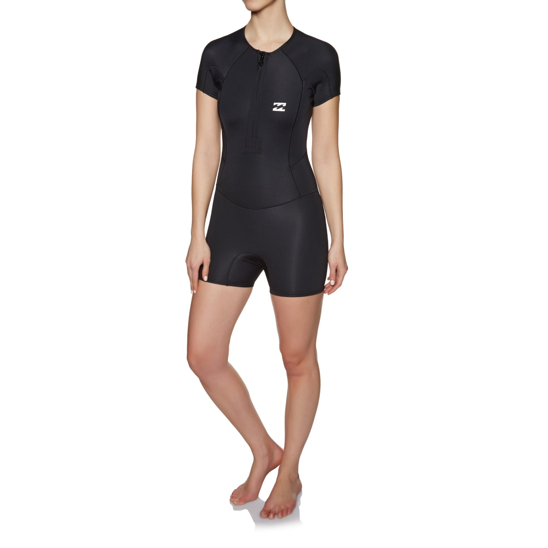 Billabong Synergy 1mm 2018 Front Zip Shorty Ladies Wetsuit