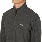 RVCA Frequency Zip Sports Top