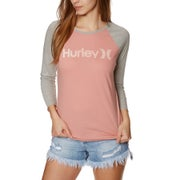 Hurley One And Only Perfect Raglan Ladies Long Sleeve T-Shirt