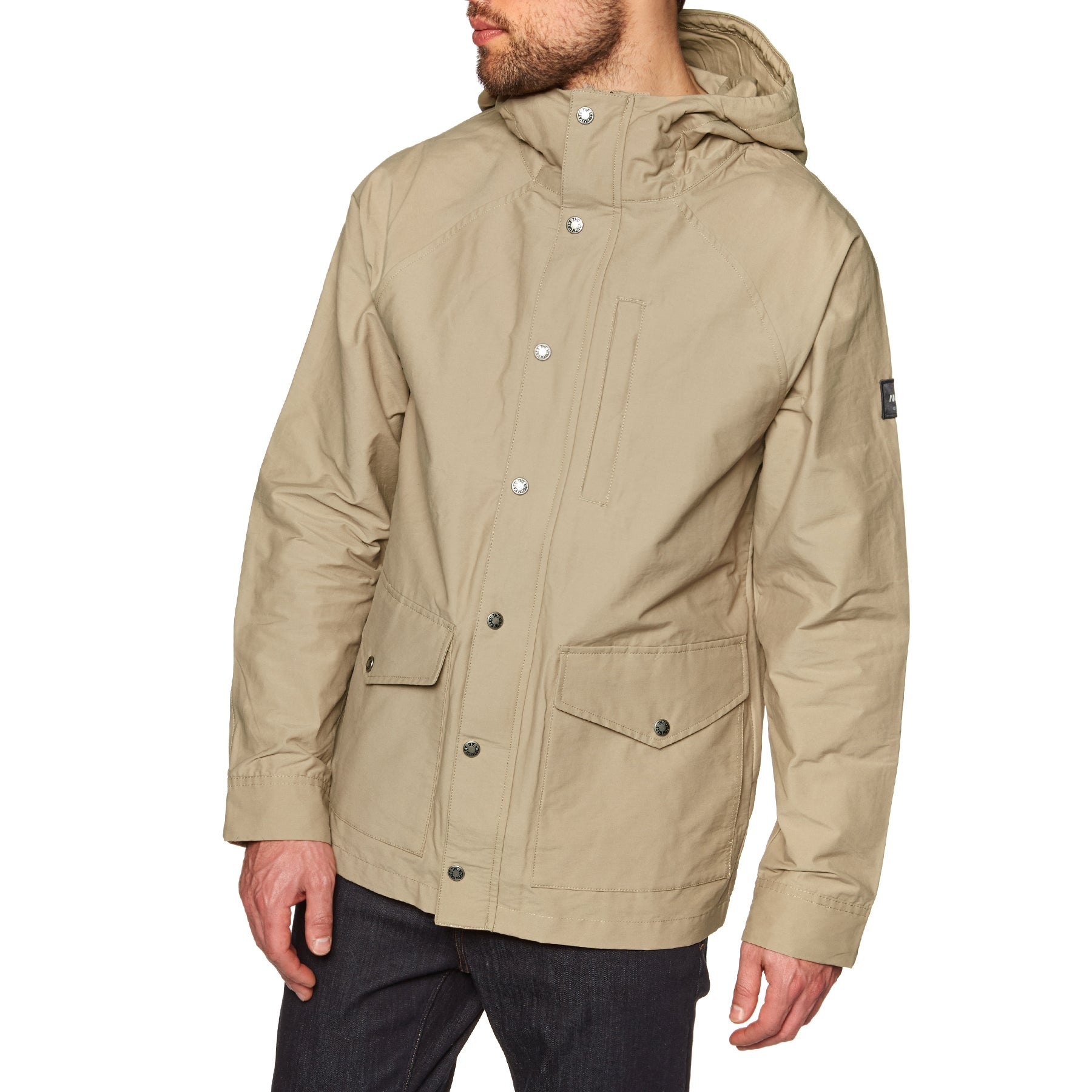 North Face Canvas Utility Mens Wax Jacket