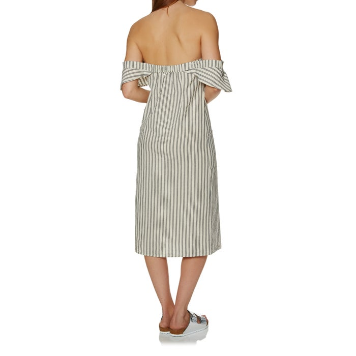 SWELL Delta Stripe Midi Ladies Dress