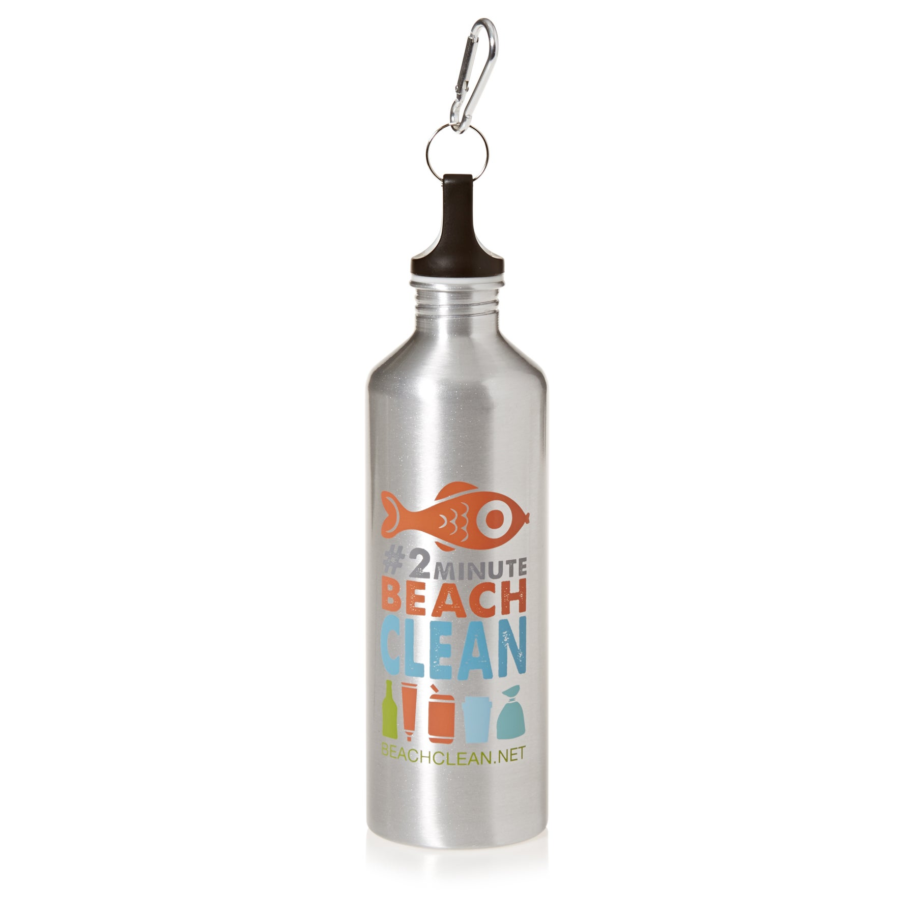 2 Minute Beach Clean Drink Water Bottle
