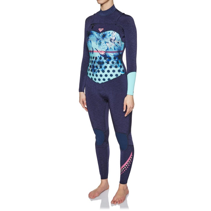 Roxy Pop Surf 3/2mm 2018 Chest Zip Ladies Wetsuit