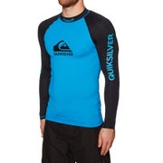 Quiksilver On Tour Long Sleeve Mens Rash Vest
