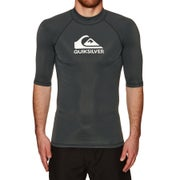 Quiksilver Heater Short Sleeve Rash Vest