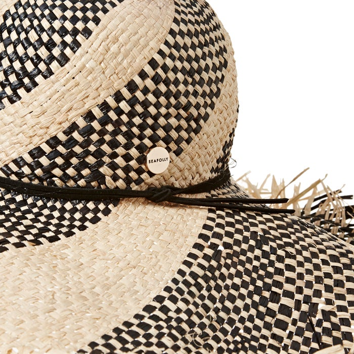 Seafolly Shady Lady Wide Brim Fedora Hat