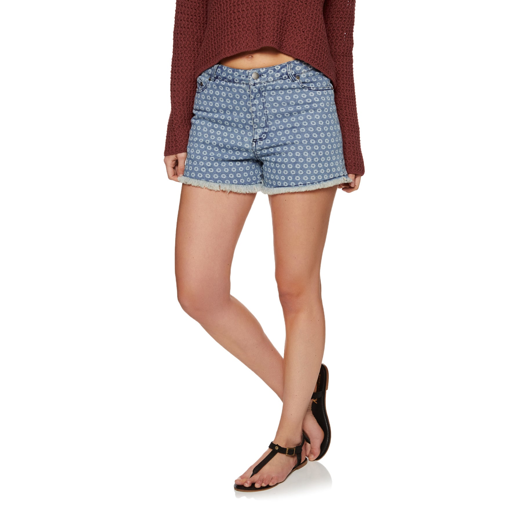 SWELL Daisy Printed Ladies Shorts