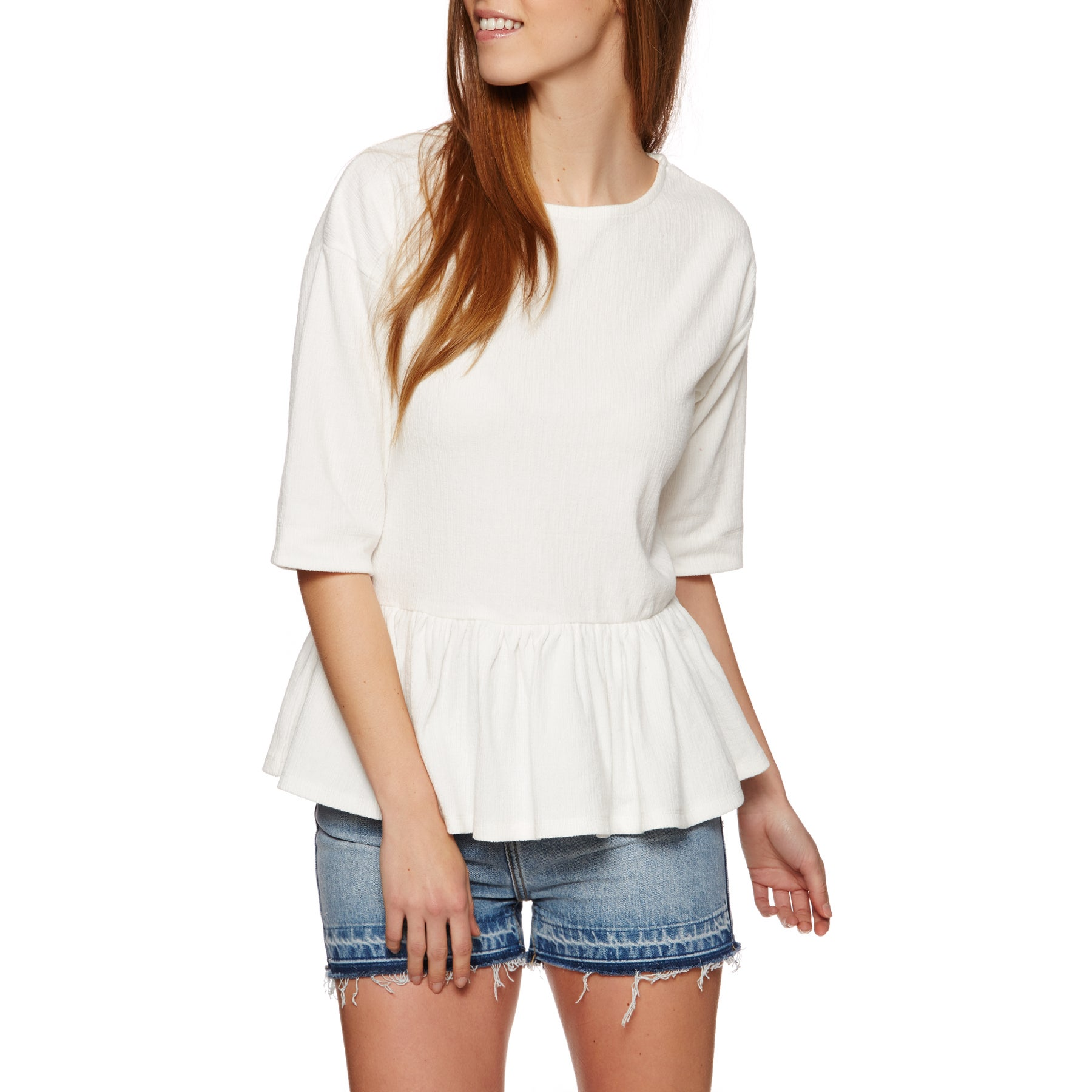 SWELL Daylight Peplum Ladies Top