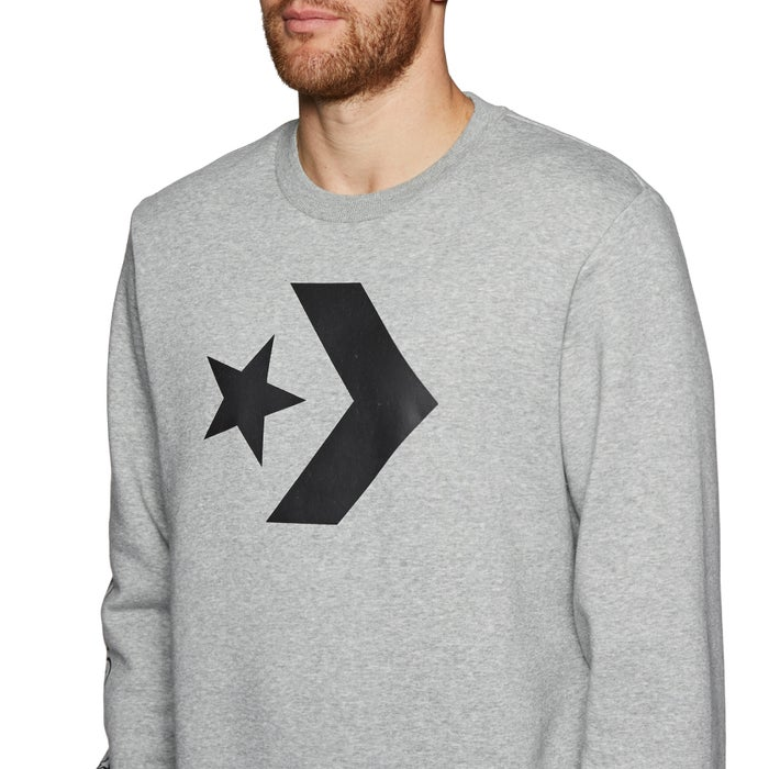Converse Star Chevron Graphic Crew Sweater